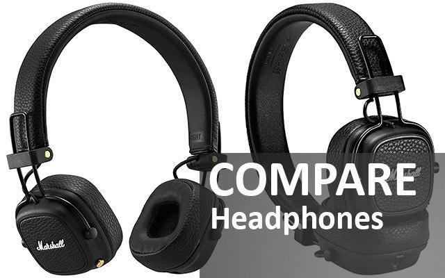 Compare headphones